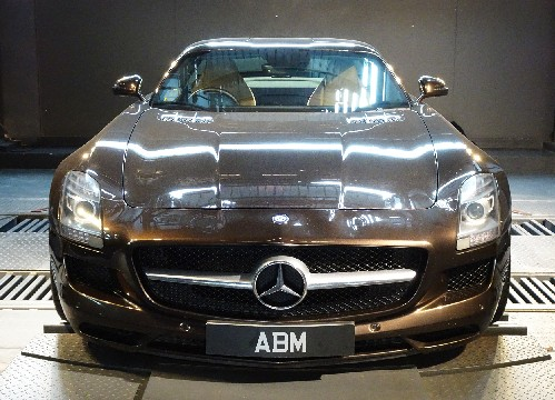 [SOLD] 2013 MERCEDES BENZ SLS AMG COUPE